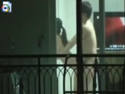 Voyeur films couple fucking