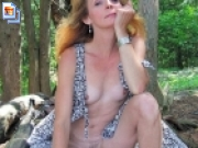 Mature nudity in public